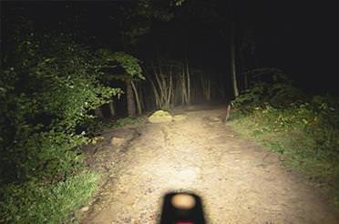PR1600 Bike Light Review from MBR