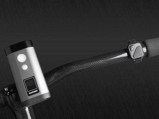 RAVEMEN PR1600 bike light, wireless switch