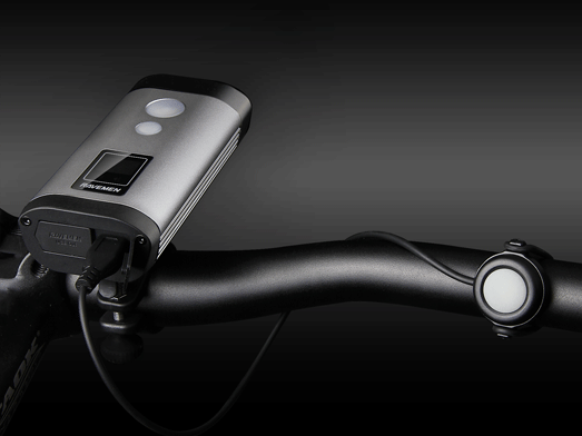 RAVEMEN PR900 bike light, wired remote button