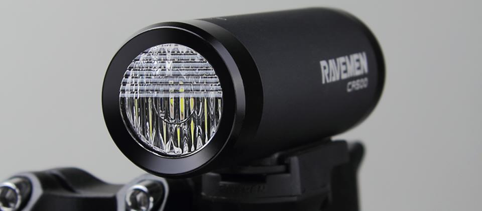 RAVEMEN CR bike lights, DuaLens Optical Design