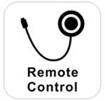 Wired remote button
