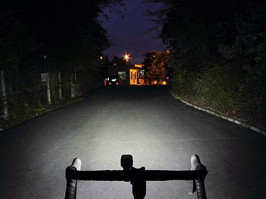 RAVEMEN LR500S bike light flood beam