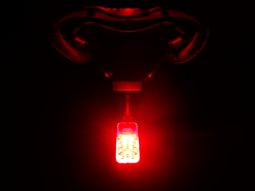 RAVEMEN TR30M rear light internal rellecting patterns