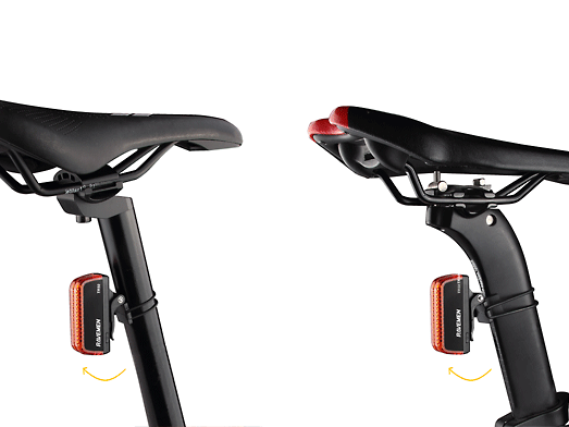 RAVEMEN TR50 rear light angle adjustable