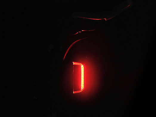 RAVEMEN TR50 rear light side visibility