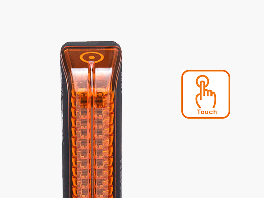 RAVEMEN TR50 rear light touch pad