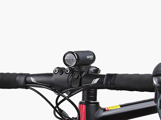 RAVEMEN CR500 bike light integrated design