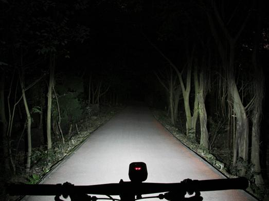 RAVEMEN PR1600 bike light, anti-glare low beam