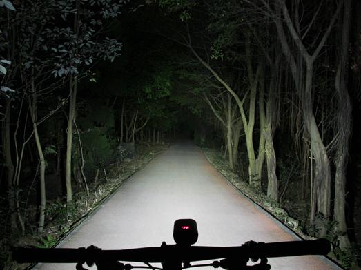 RAVEMEN PR1600 bike light, HiLo beam system
